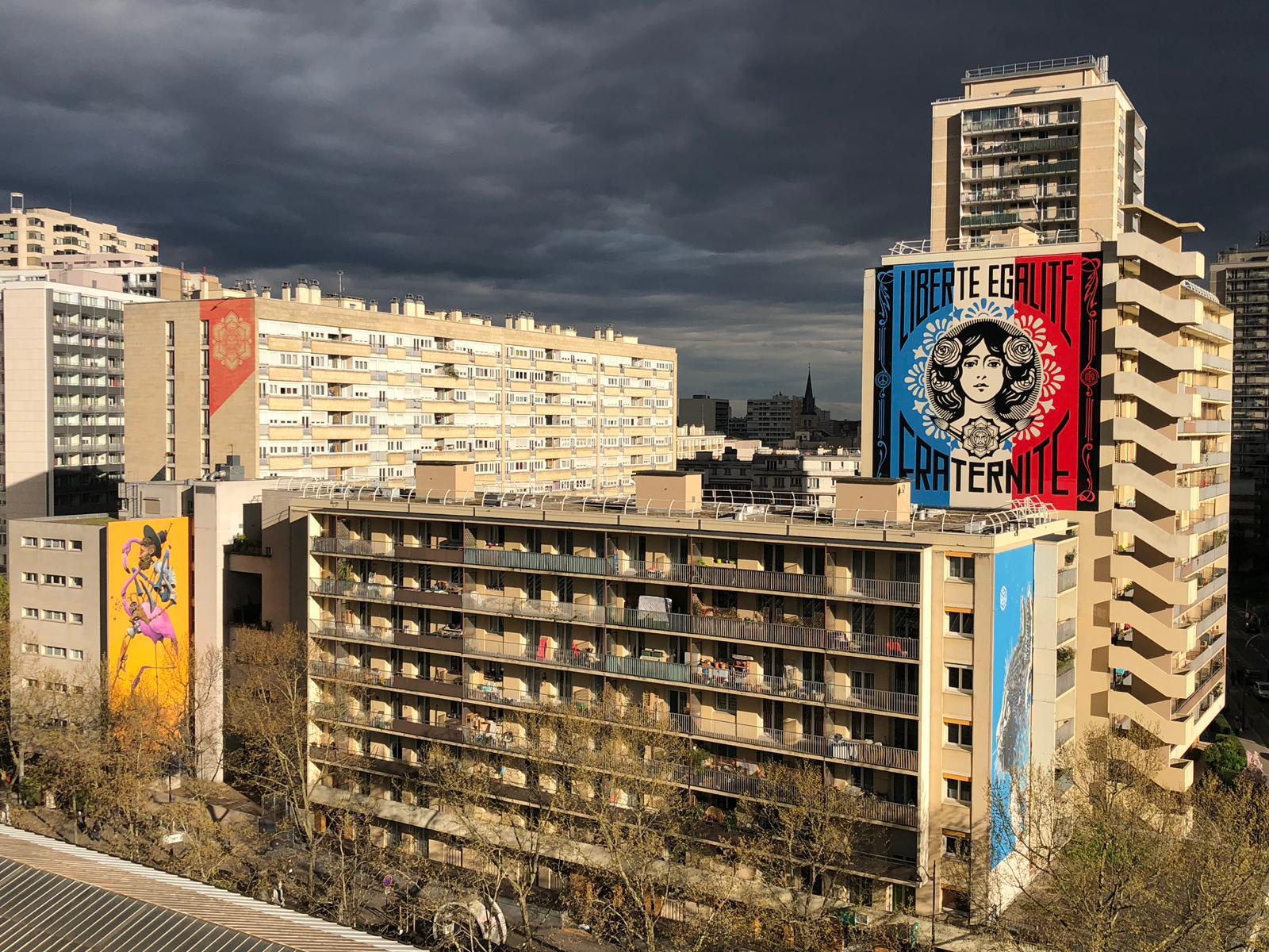 Fresques Boulevard Paris 13