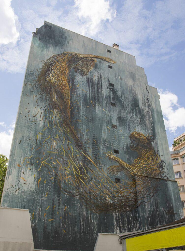 Photo de la fresque de Daleast