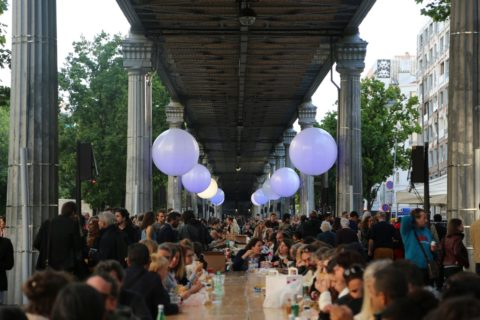 Photo de la soirée d'inauguration de Boulevard Paris 13
