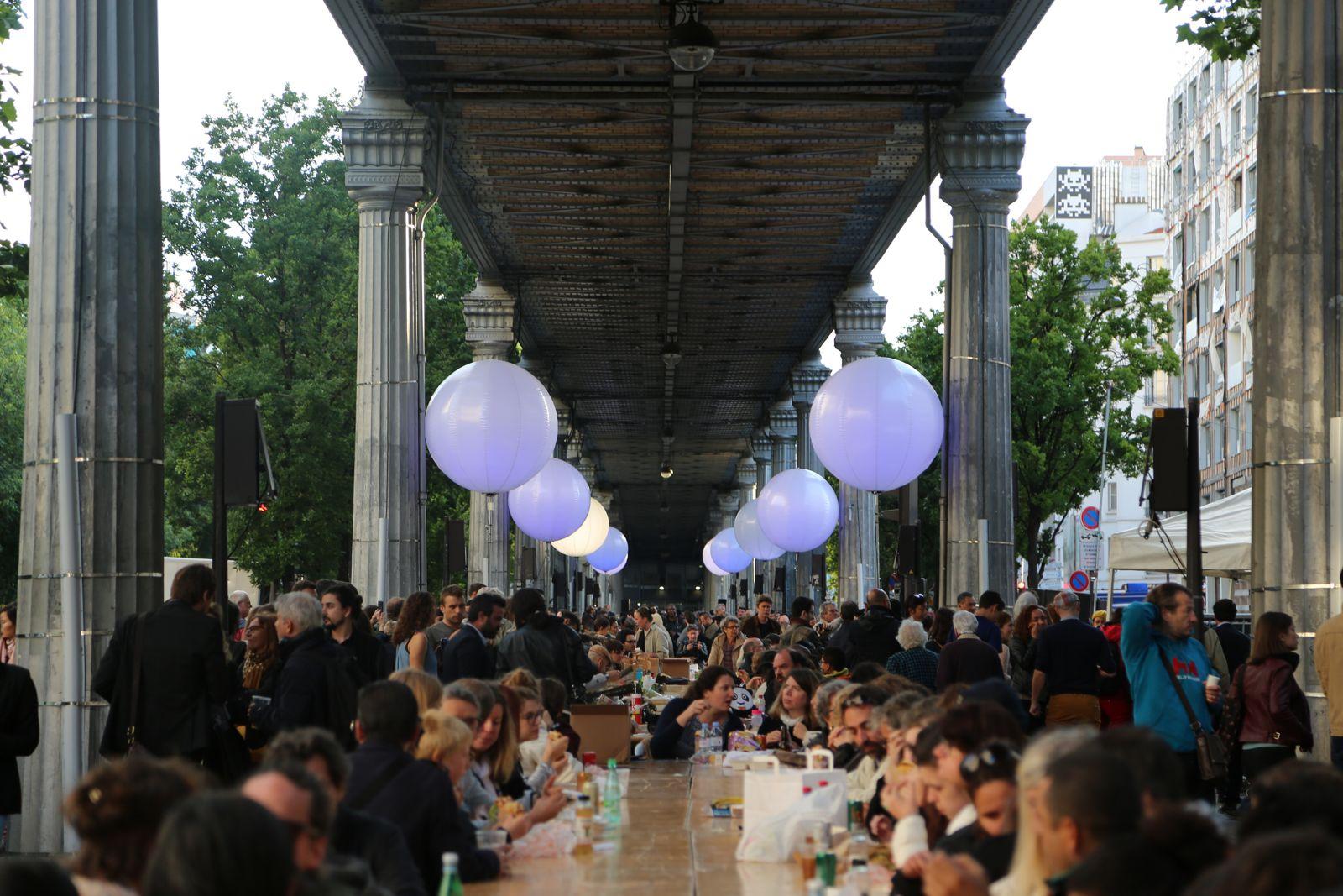 Photo de la soirée d'inauguration de Boulevard Paris 13