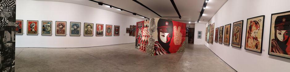 Panorama exposition Shepard Fairey