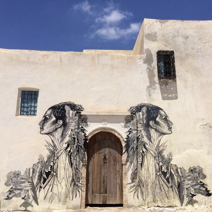 Photo fresque Djerbahood