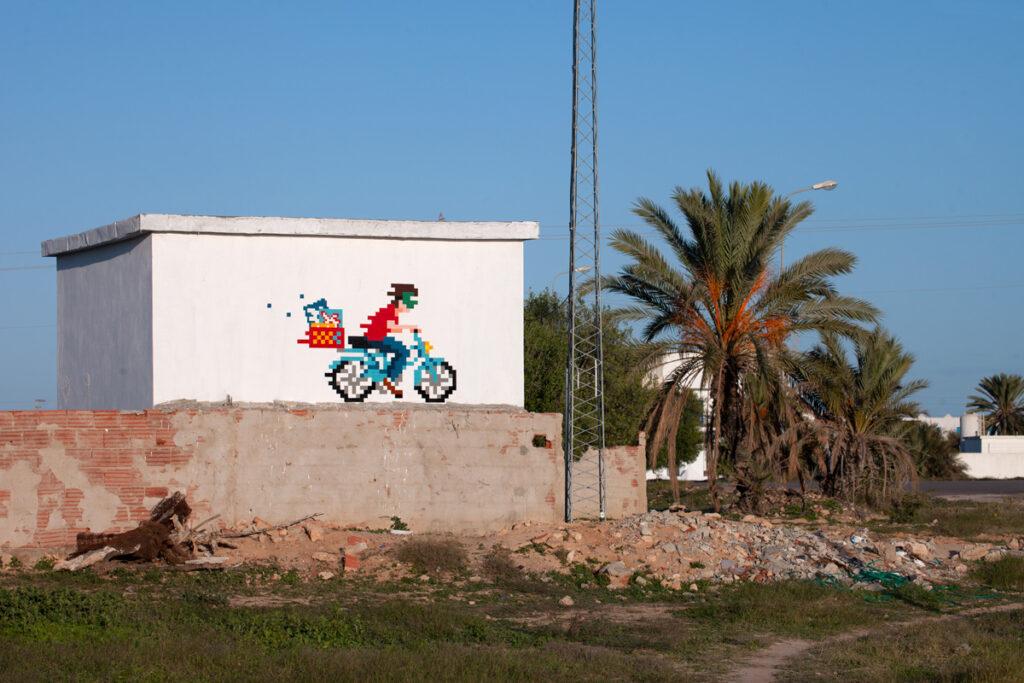 Invader à Djerba en Tunisie