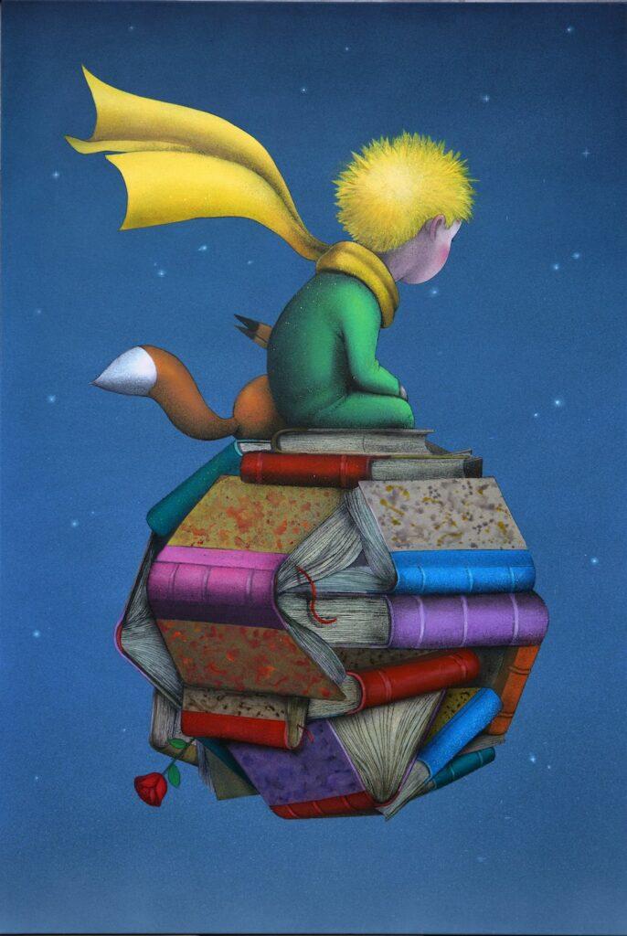 Seth, Le Petit Prince, 195 x 130 cm, 2020