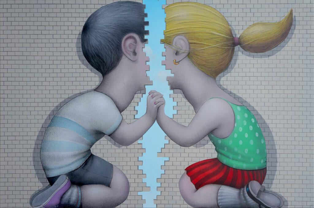© Seth, Keep in Touch, 195 x 130 cm, 2020